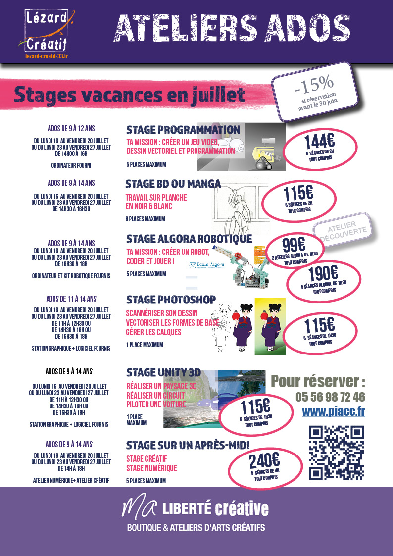 2018-07 Programme stages ado
