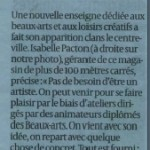Article Sud-Ouest du lundi 08 avril 2014