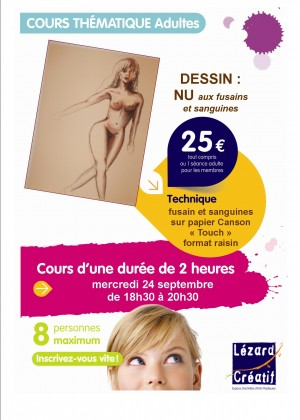 Eysines Cours thema dessin sept