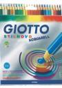 Giotto-24-Crayons de couleur aquerelable