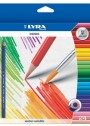 Giotto-24-Crayons de couleur lyra soluble