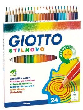 Giotto-24-Crayons de couleur