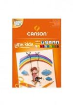 bloc-papier-couleur-a4-canson-enfants-120g