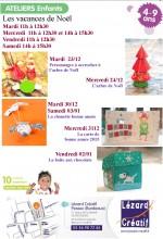 2014-12 Programme Ateliers Enfants - vancances noel