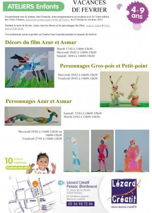 2015-02 Programme Ateliers Enfants – Vacances