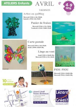 2015-04 Programme Ateliers Enfants vacances