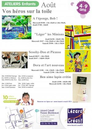 2015-08 Programme Ateliers Enfants