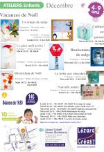 2015-12 Programme Ateliers Enfants vacances Noel