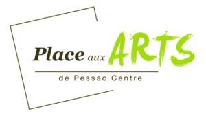 Logo PLace aux arts de Pesac centre