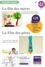 2015-06 Programme Ateliers Enfants fetes des meres et fetes des peres