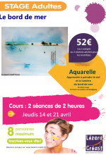 2016-04 Stage Aquarelle bord de mer