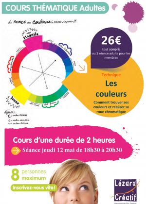 2016-05 Cours thématique les couleurs