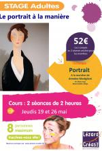 2016-05 Stage Portrait Modigliani