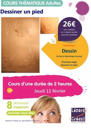 2016-02 Cours thematique dessiner un pied