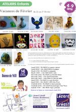 2016-02 Programme Ateliers Enfants vacances - 2