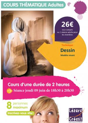 2016-06 Cours thématique modele vivant