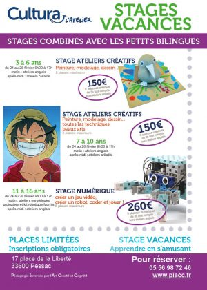 Ateliers stages petits bilingues