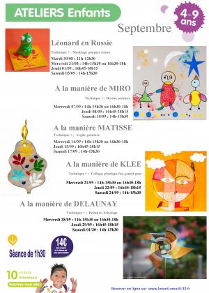 2016-06 Programme Ateliers Enfants
