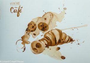 Peinture au café