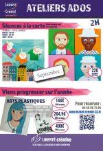 2017-08 Programme Ateliers Ados