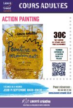 2017-09 Action Painting Facon Pollock