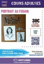 2017-10 Portrait au fusain