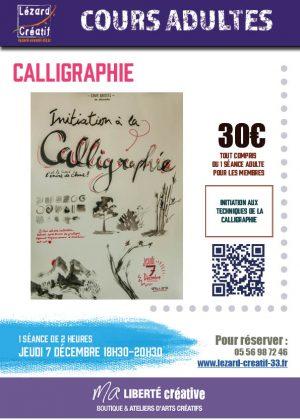2017-12 Initiation à la calligraphie