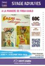 2017-12 Stage a la maniere frida kahlo