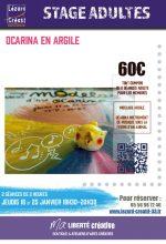 2018-01 Stage ocarina modelage argile