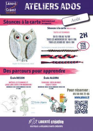 2018-08 Programme Ateliers Ados
