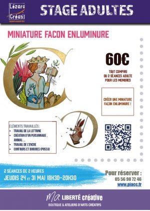 2018-05 Miniature en enluminure