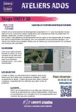 2018-07 Programme stages ado UNITY