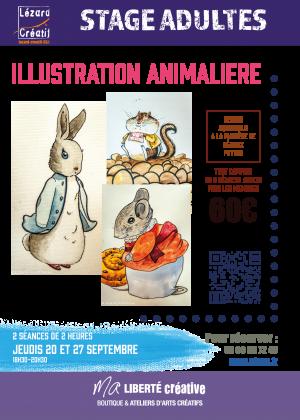 2018-09 Illustration animaliere