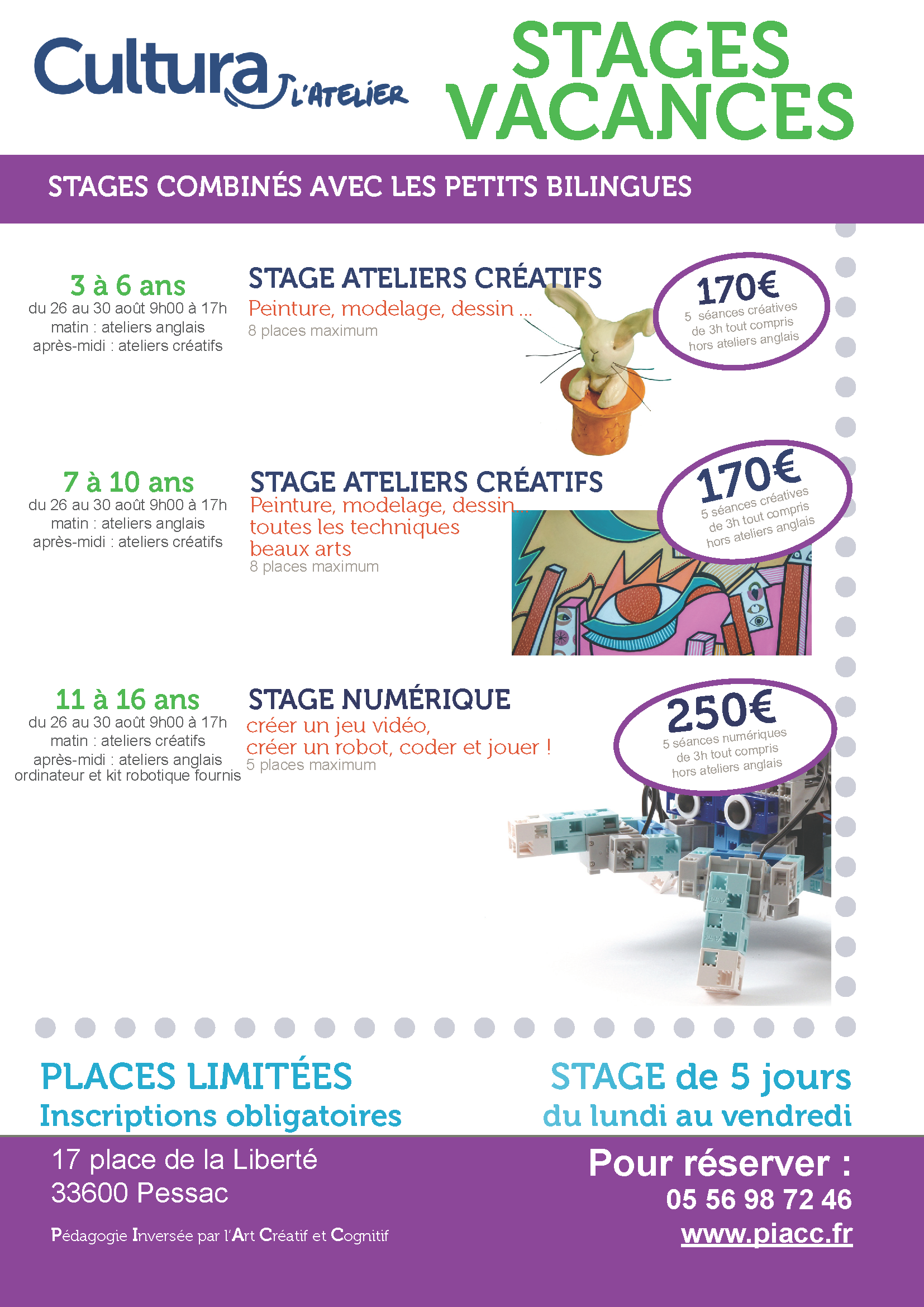 2019-08 Stages combines peitits bilingues