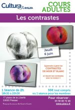 Ateliers cours adultes contraste