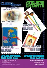 Ateliers enfants rentrée haute en couleurs