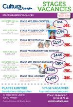 Ateliers stages grandes vacances et ateliers de juin_STA1