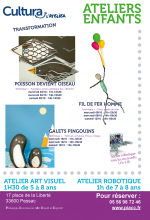 Ateliers transformation enfants