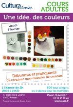 Ateliers adultes palette couleurs